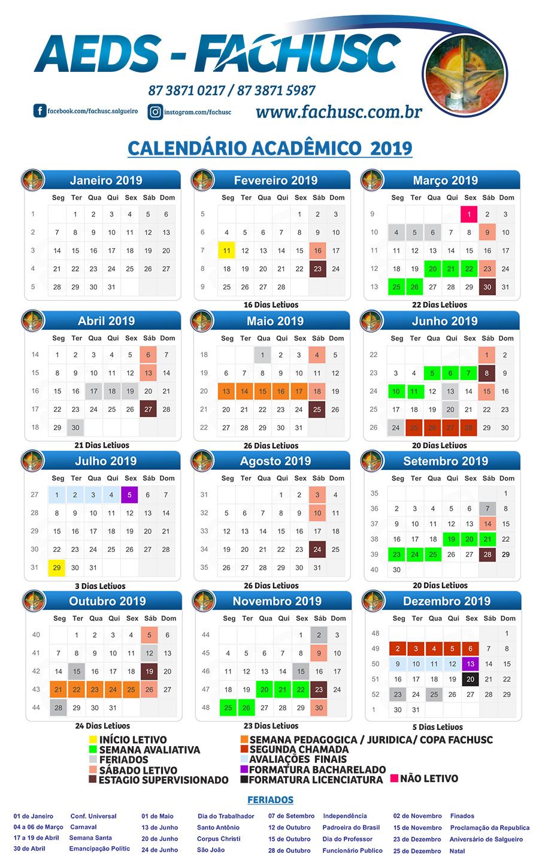 Usc Calendario.Aeds Fachusc